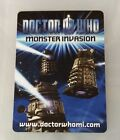 Doctor Who Monster Invasion Test Set Trading Card Choose From Menu