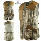 Browning Crossover Leather Shooting Vest RTX/Leather XL XXL Trap Skeet ClayVests - 178080