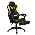 Gaming Chair High Back Racing Style Ergonomic Recliner Office Desk Seat Footrest