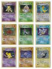 Japanese Pokemon Cards Team Rocket Set RARE HOLOS (CHOOSE CARD & CONDITION)