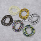 Frosted Round Glass Beads 8mm Handmade DIY Jewelry Bracelet Findings Crafts New