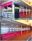 A3 LED Window Display Illuminating Hanging Kits for Real Estate Retail Shop