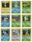 Japanese Pokemon Cards Neo Genesis Set RARE HOLOS (CHOOSE CARD & CONDITION)