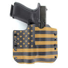 OWB Kydex Holster for 50+ Hanguns with STREAMLIGHT TLR-3 - USA COYOTE