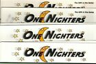 Jeanette Crews ONE NIGHTERS counted cross stitch charts - YOUR CHOICE - new