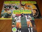 Lot of 3 Green Bay Packers Yearbooks 1979 1980 & 1981 Bart Starr Lynn Dickey