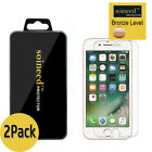 2-Pack SOINEED iPhone 6 / 7 / 8 Plus Tempered GLASS Screen Protector Bubble Free