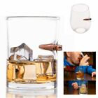 Creative BulletProof Style Glass Cup Bar Lucky Drinking Unisex Military Gift