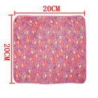 Pet Paw Print Bone Cat Dog Hamster Puppy Soft Blanket Bed Coral Cashmere Cushion