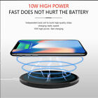 For Apple iPhone X 10 8 Plus + QI Wireless Fast Charger Charging Pad Mat Dock