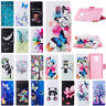 For Samsung Galaxy A8 2018/S9+/J7 Pro Wallet Leather Case Flip Stand Phone Cover