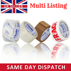 PACKAGING TAPE Rolls Carton Sealing Packing Clear Brown Parcel Tapes 48mm x 66M