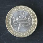 Uncirculated Shakespeare £2 Two Pound Coins from Sealed Bags