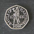 Uncirculated 2016 Two Pound £2 & Fifty Pence 50p Coins - Great Condition