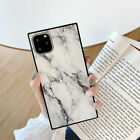 Rectangle Shockproof Marble TPU Case Cover For iPhone 11 Pro XR XS Max 7 8 Plus