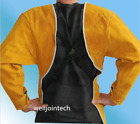 Wearable Adiabatic Anti-scald Welding Protector Clothes Leather Low-collared
