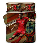 Soccer World Cup Quilt Doona Cover Set Single Queen King Size Pillow Cases Bed