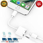 iPhone 7 Plus Audio Earphone Adapter Charger Port AUX Music Player Cable Phone