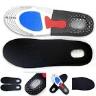 Men's Gel Orthotic Sport Running Pad Arch Support Cushion Insoles Insert Shoe·