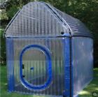 Air Tight Commercial PVC Inflatable Indoor Outdoor Clear Greenhouse W/ Pump NEW
