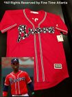 Ozzie Albies Atlanta Braves Mens Limited Edition American Flag Alternate Jersey