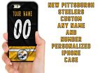 PITTSBURGH STEELERS CUSTOM CASE FOR IPHONE XS 11 PRO MAX  XR 4 5C 6 7 8 PLUS $13.88 USD on eBay