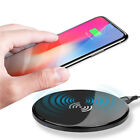Lot Portable Qi Wireless Slim Charger Charge Pad For Samsung Note8 Phone X8Plus