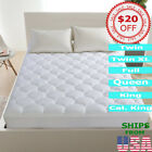 Mattress Pad Cover Best Soft Hypoallergenic Topper Pillow Top Bed Protector image