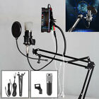 NW-800 Studio Condenser Microphone Mic Sound Recording Kit with Shock Mount UK