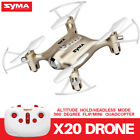 Mini RC Drone Quadcopter Syma X20 6Axis Gyro 2.4G Headless Mode 3D Flip Roll