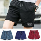 Mens Summer Breathable Shorts Cargo Swim Gym Sports Running Casual Short Pants
