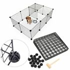 Multi-function Easy Install Dog Cage Enclosure Yard Kennel Pet Playpen Fence