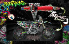 "HONDA 2002-2008 CRF250 CRF450 GRAPHICS DECALS WRAP ""RUCKUS"" CRF250R CRF450R"
