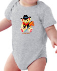 Infant Creeper Bodysuit One Piece T-shirt Cowboy teddy bear stick horse k-56
