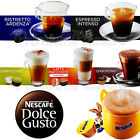 Nescafe Dolce Gusto Coffee pods capsules Latte Espresso Nesquik BOX of 16 PCS