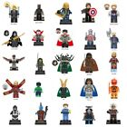 DC Marvel Minifigures Super Heroes Black Panther Thor Avengers MiniFigure Blocks