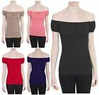 New Ladies Cap Sleeve Fixed Ribbon Tie Gathered Detail Stretch Gypsy Boho Tops