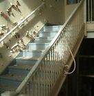 Wought iron stair railing pine cap, Greenbrier High School, Ronceverte, WV Lot 3