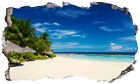 Maldives Beach Tropical Island Magic Window Wall Art Self Adhesive Poster V2*