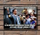 dicaprio wall street movie - ZA215 The Wolf Of Wall Street Movie Dicaprio Motivational Poster Hot 40x27 36x24