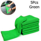 5/10x Soft Auto Cars Microfiber Wash Cloth Cleaning Towels Hair DryingDusters EW