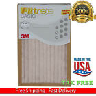 16x16x1 air filter - 374444FILTRETE 3M AIR FURNACE FILTER WHITE PLEATED 3 PK OR 12 PK MERV RATING 5