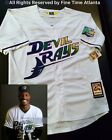 NEW RARE Fred McGriff Tampa Bay Devil Rays Inaugural Season Retro Jersey Boggs