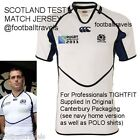 XXL SCOTLAND WORLD CUP TEST TIGHTFIT RUGBY SHIRT JERSEY Canterbury of NZ