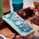 For iPod Touch 5th 6th Gen Shockproof Pattern Glitter Quicksand Soft Case Cover