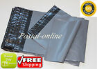GREY Postal Postage Mailing Poly Bags 9 x 12'' 230x300 envelopes 1000 2000 5000