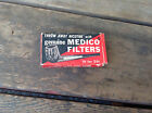 Vintage Package of Genuine Medico Filters 9 out of 12 in the Box