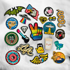 Rainbow Animal Embroidery Sew Iron On Patch Badge Transfer Fabric Applique Craft $1.29 USD on eBay