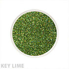 Glitter Glamour Holographic Loose Glitter Key Lime Shimmer Powder