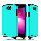 For LG Fiesta LTE/X Charge/X Power 2/LV 7/X Power 3 Hybrid Phone Hard Cover Case